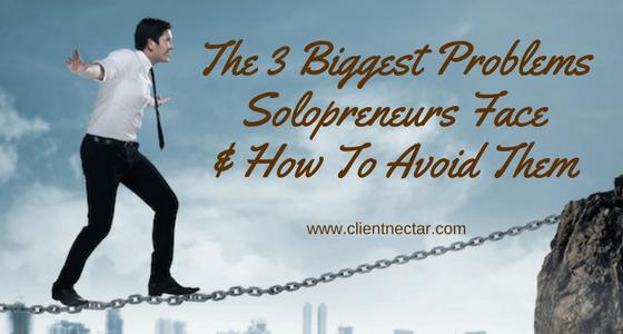 problems solopreneurs face