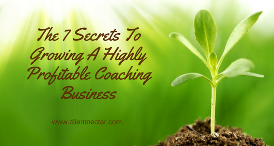 growing highly profitable coaching business