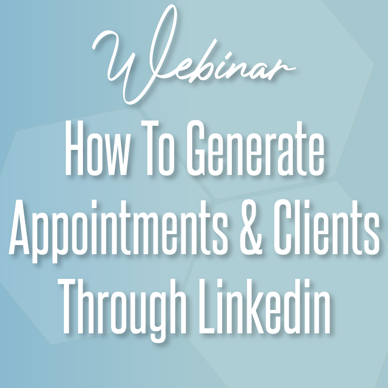 How to generate appointments and clients through linkedin
